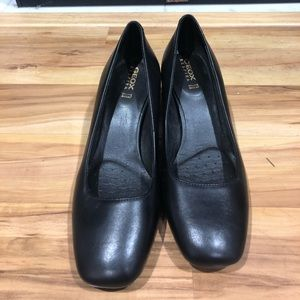 Geox Respira block heel shoes size 61/2 perfect co